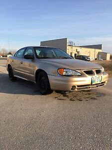 Just safetied 04 grand am only 166k
