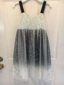 FOR SALE: Special Occasion Girls Party Dress Sz 14 Sequin