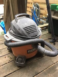 Rigid 6 Gallon Wet/Dry Vac