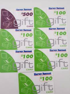 $1100 Harvey Norman Gift Cards