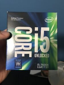 I5  7600k quad core  CPU