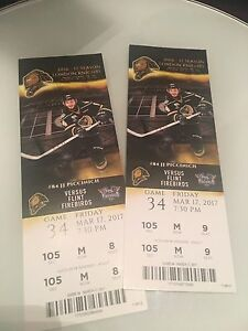 London knights centre ice tickets Friday, March 17!