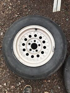 "Ford ranger 15"" aluminum wheels with all season tires"