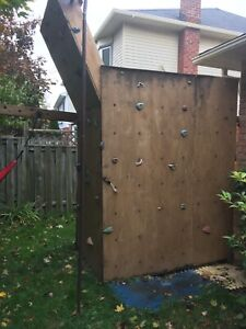 Climbing wall and accessories