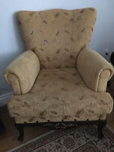 Wing back chairs for sale (2)