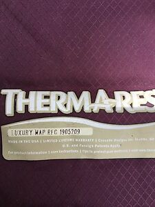Thermarest Luxary Regular size