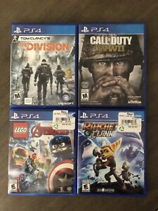 PS4 games for sale or trade!