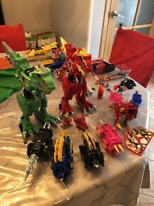 Lot power ranger dino charge