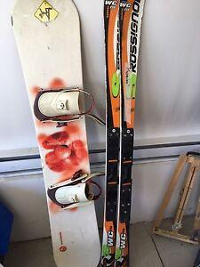 Snowboard et ski a 35$ chacun