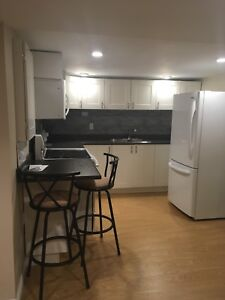 All inclusive furnished 1 bedroom apt