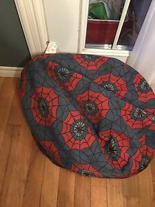 Spiderman theme bean bag