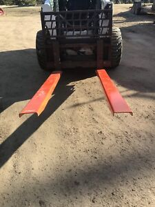 New 72 inch pallet fork extensions