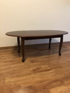 Mahogany Coloured Coffee Table