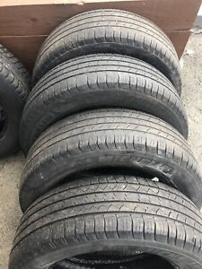 Used tires  225/65/17