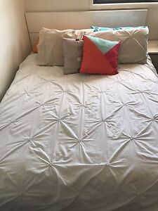 QUEEN SIZE BED FRAME AND SIDE TABLE Coomera Gold Coast North Preview