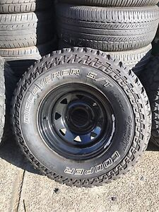 """4x Toyota landcruiser 70&100 series 16""""sunrayser with cooper tyres Chester Hill Bankstown Area Preview"""