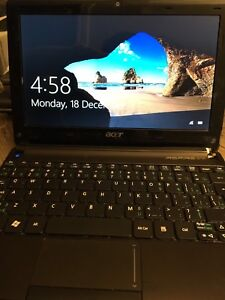 Acer Aspire One laptop with Windows 10