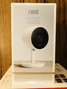 Nest Cam IQ indoor security Camera:Sealed Box : FRee Delivery