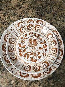 Chanticleer 'Rooster' Plates