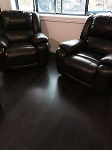 Recliner couches Mount Lewis Bankstown Area Preview