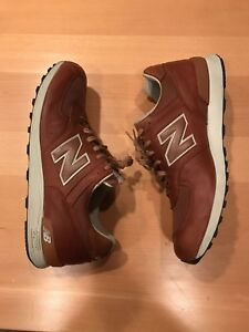 New Balance 574 brown leather, men's size 13,