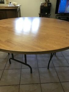 6.3ft round table