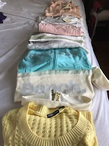 Sweaters and outerwear 11 pieces like new some with tags