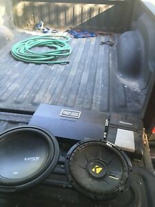 Not working car audio lot