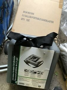 Portable Sandblaster