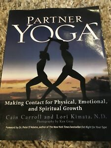 Partner yoga teacher training text book