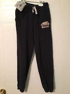 Girls ROOTS trackpants
