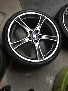 """2015 BMW PERFORMANCE MAGS+TIRES 20"""""""