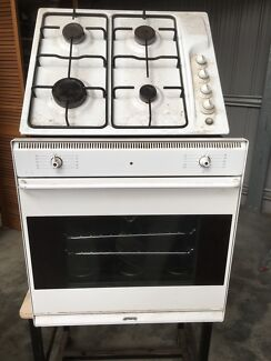 Smeg oven and cook top