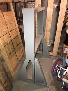 Free standing stand for on-demand boilers or other