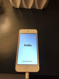 iPod 6th gen pink mint condition