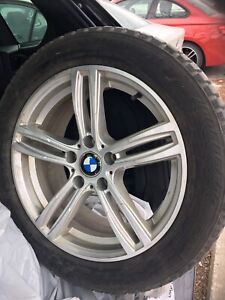 Roues hivers pour BMW X3 2010 a 2017