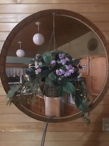 Hanging flower basket (indoor)