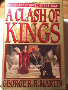 First US printing of a clash of kings – song of ice and fire
