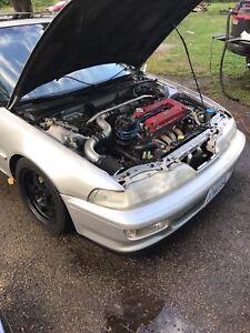 1990 Acura integra gsr b18c1 100% type r
