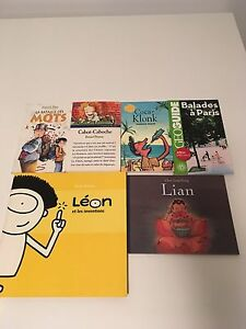 Children's French books/livres lot
