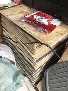 Barricade air plus - 24 panels + scraps - $120