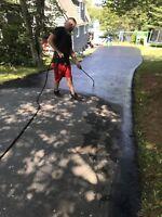 $50 off a-plus driveway sealing!