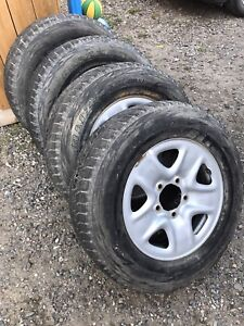 4-275/65/18 tires on steel Toyota rims