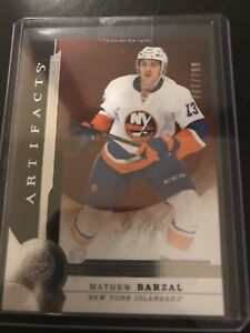Matt Barzal Rookie Card