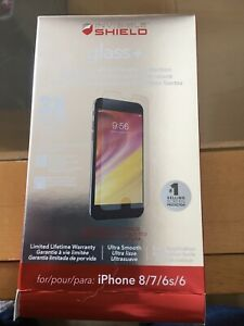 ZAGG Invisible shield glass +. For iPhone 8/7/6s/6.