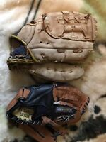 Two baseball gloves