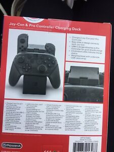 Charging dock for joy con & pro controller remote