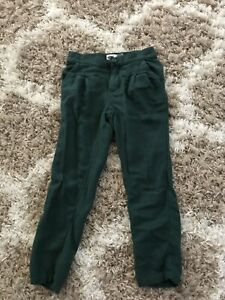 Size 5T pleated green pants.   Old navy