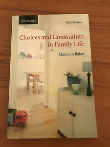 Choices and Constraints in Family Life Third Edition