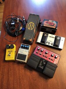 Guitar Pedals for Sale MXR, Boss, Cry Baby, Ebow